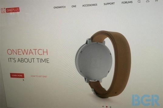 OnePlus: in arrivo uno smartwatch dalle caratteristiche impressionanti [FOTO]