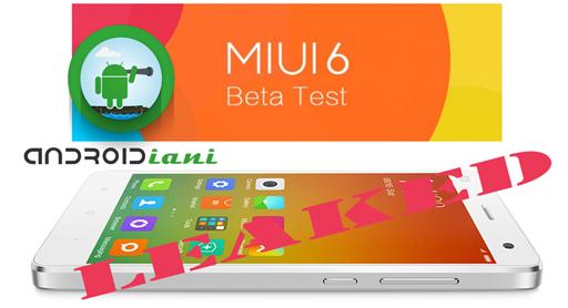 Miui 6 leaked: Rom e OTA per Mi3 e Mi4 [Update]