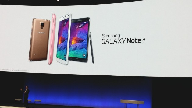 Samsung Unpacked 2014: Galaxy Note 4 ufficiale [HANDS ON]