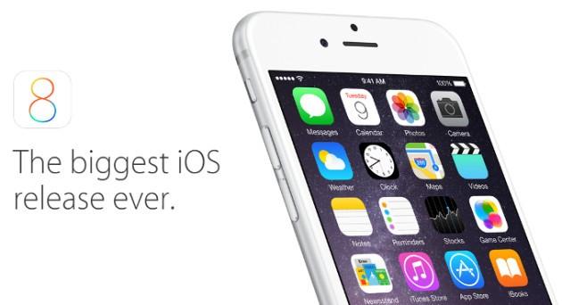 Apple: iOS 8 sul 46% dei dispositivi dopo 5 giorni dalla release