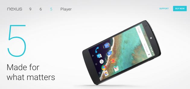Android N su Nexus 5: Google ci sta provando