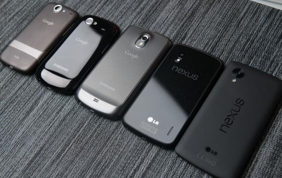 Dal 2010 a oggi: breve storia degli smartphone Nexus