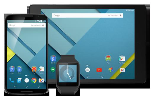 Android Lollipop: Google rilascia l' SDK
