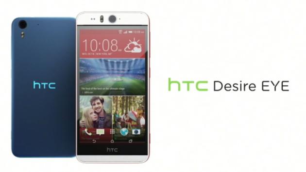 HTC presenta Desire EYE: fotocamera frontale da 13 MP con doppio flash LED