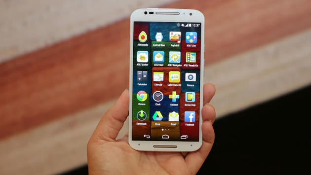 Motorola Moto X 2014 con Lollipop in alcune immagini