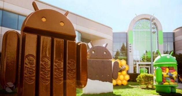 Distribuzione Android, ecco l'andamento dal Dicembre 2012 a oggi
