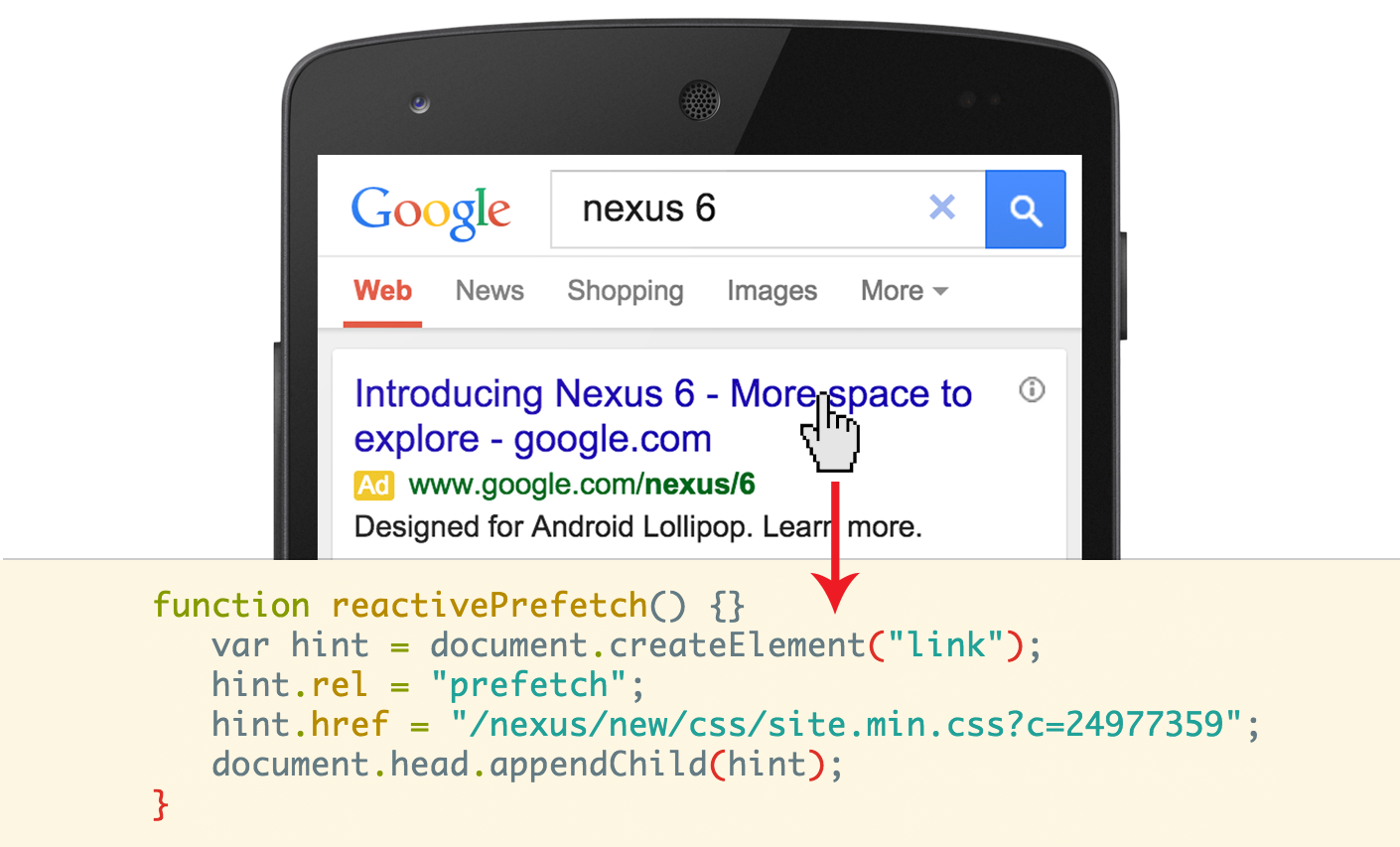Ricerca Per Immagini Mobile la ricerca google è ancora più veloce, ma solo su chrome per