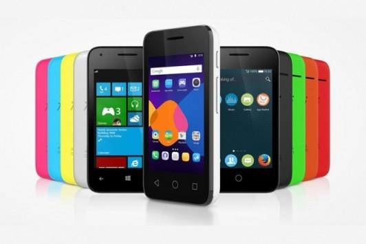 Alcatel annuncia 4 nuovi smartphone Pixi 3 ed uno smartwatch economico