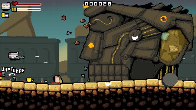 Gunslugs 2: il nuovo capitolo del platform 8-bit di OrangePixel