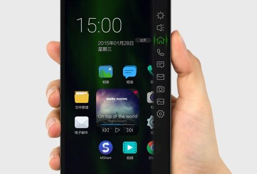 Manta 7X, specifiche tecniche dello smartphone privo di tasti fisici