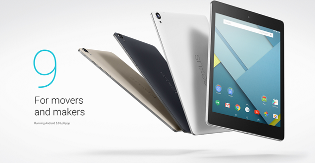 HTC Nexus 9: iniziato il roll-out di Android 5.0.2 Lollipop