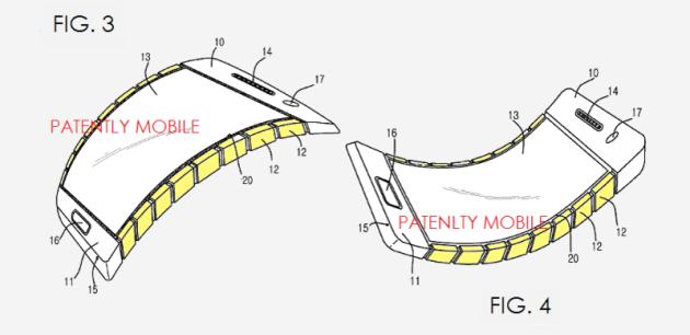 Mai più bendgate: Samsung brevetta una scocca flessibile per smartphone