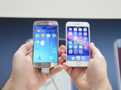 Samsung Galaxy S6 Edge, video-confronto