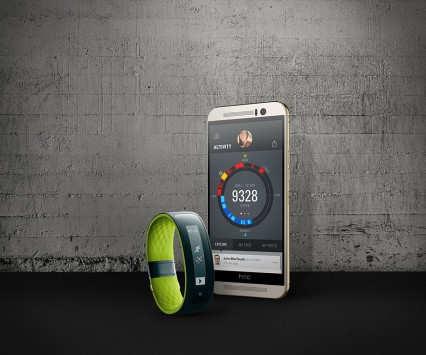 HTC presenta Grip, smartband per fitness tracking