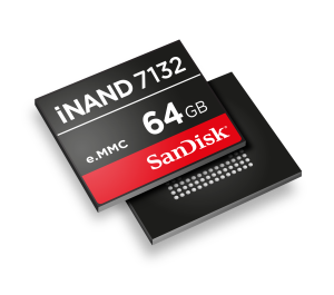 SanDisk iNAND_7132_64GB