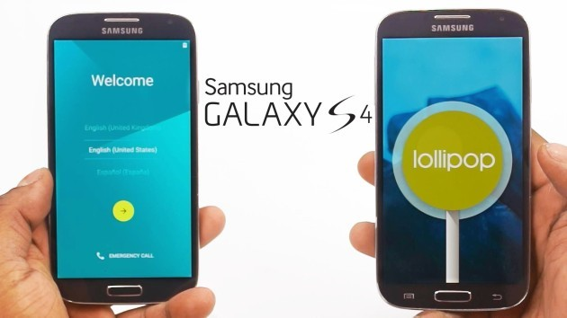 Samsung Galaxy S4, aggiornamento a Lollipop disponibile in Italia