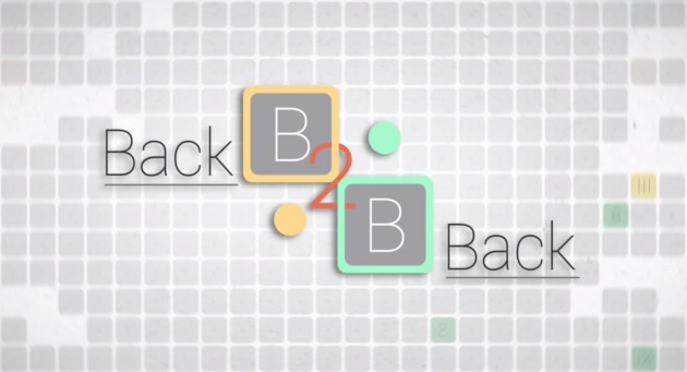 Back to Back: un nuovo puzzle-game tutto italiano