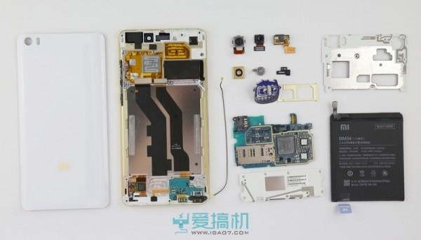Xiaomi Mi Note Pro sottoposto a teardown: ecco come si raffredda Snapdragon 810