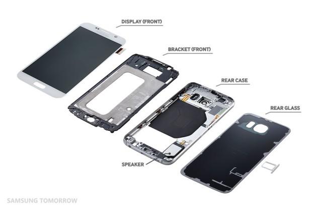 Samsung Galaxy S6 e Galaxy S6 Edge, ecco il teardown ufficiale