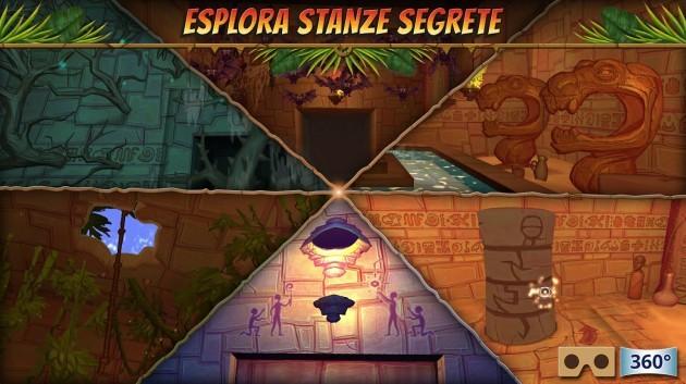 Hidden Temple VR Adventure: nuovo titolo da sfruttare con un sensore