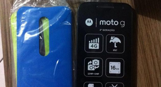 Motorola Moto G 2015, primo unboxing in attesa della presentazione