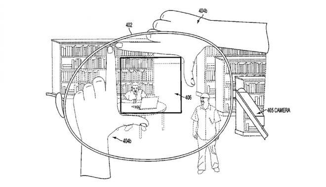 Google Glass: nella prossima generazione si potranno fare le foto inquadrando con le dita