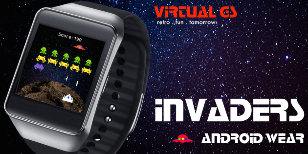 Invaders arriva su Android Wear