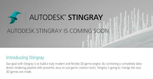 Autodesk lancia Stingray, motore grafico basato sull'integrazione