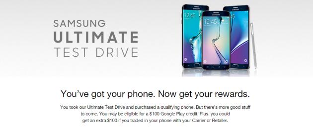 Ultimate Test Drive di Samsung: migliora la promozione