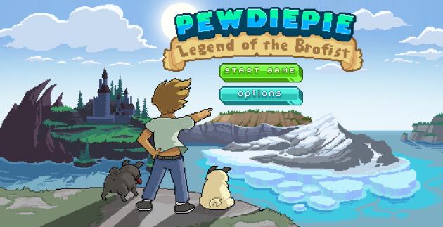 PewDiePie: Legend of Brofist - il videogame del noto youtuber arriva su Android