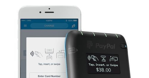 PayPal Here: in arrivo un nuovo POS compatibile con Android Pay