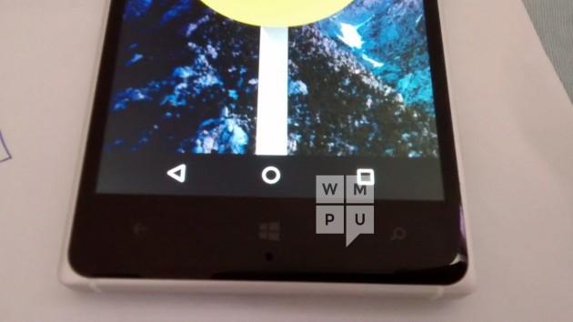Android Lollipop eseguito su Lumia 830 - VIDEO
