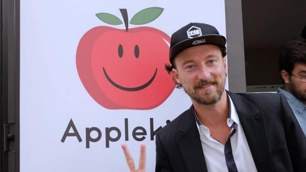 Francesco Facchinetti e il nuovo social network AppleKiss