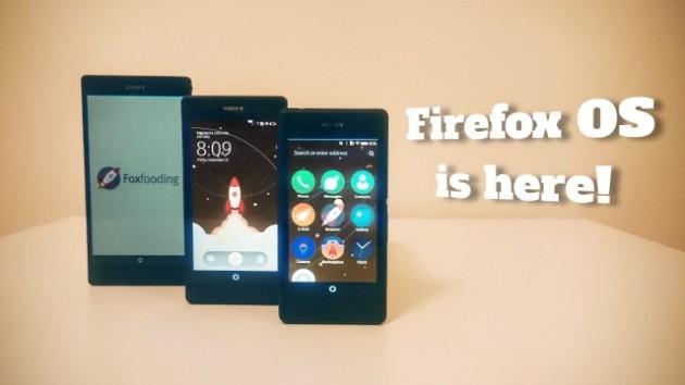 Firefox OS: firmware per alcuni smartphone Xperia - VIDEO e DOWNLOAD