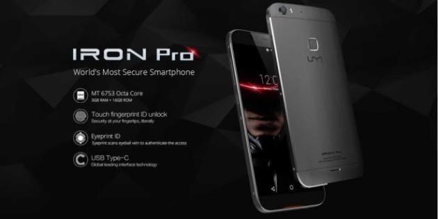 Umi Iron Pro è dotato di ben tre livelli di sicurezza