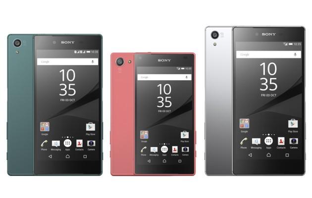 Sony Xperia Z5: in arrivo un nuovo update per l'intera gamma