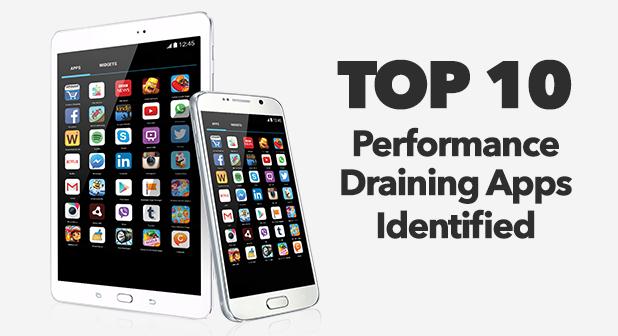AVG: le 10 app che consumano più batteria