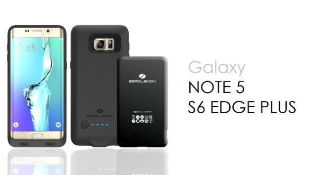 Galaxy S6 Edge Plus e Note 5: le cover con batteria integrata