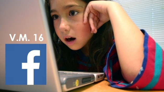 Unione Europea: niente Facebook prima dei 16 anni