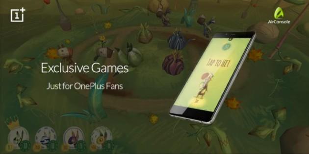 AirConsole e OnePlus permetteranno l'utilizzo del proprio smartphone come controller