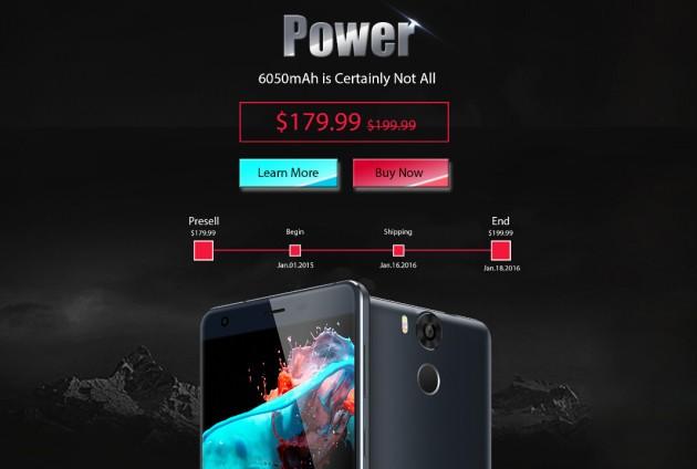 [Sponsored] Ulefone Power: ecco i primi sconti dell'anno