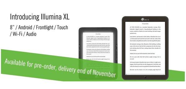 Icarus Illumia XL: nuovo ebook reader con Android disponibile su Amazon
