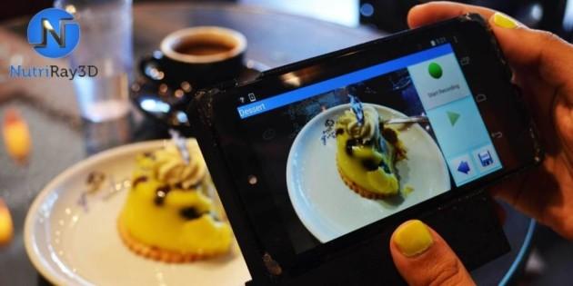NutriRay3D: su Indiegogo arriva un accessorio in grado di calcolare le calorie del cibo