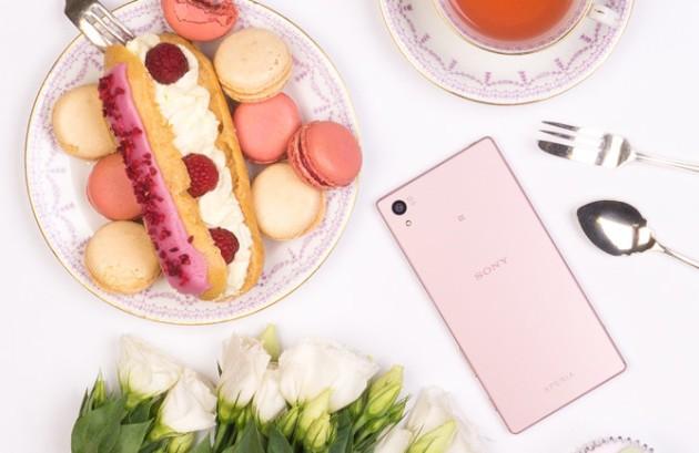 Sony Xperia Z5 debutta ufficialmente anche in colorazione rosa