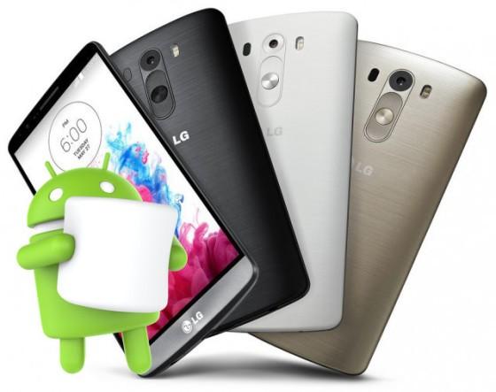 LG G3, aggiornamento a Marshmallow per i no-brand disponibile in Italia