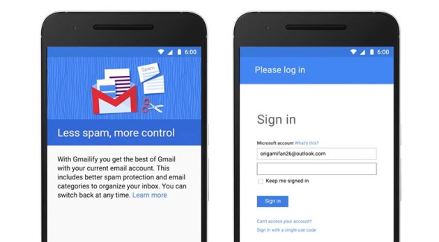 Gmailify: il meglio di Gmail ma senza un indirizzo Gmail