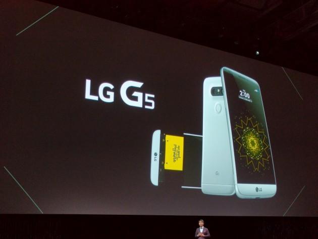LG G5 ufficiale: corpo in metallo modulare e batteria rimovibile