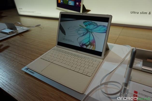 Huawei presenta Matebook, notebook da 12