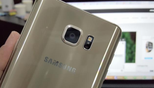 Galaxy Note 6: impermeabile e con scanner dell'iride?
