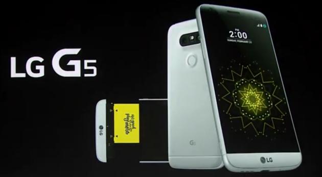 LG annuncia ufficialmente il G5 con Snapdragon 652